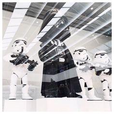 FROM A TO B | BANGKOK | 013 #darthvader #stormtrooper #starwars #reflection #thailand #vscocam