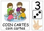 Les affichettes pour les coins et ateliers - Handprint Kindergarten Daily Schedule Preschool, Cycle 1, Coins, Kindergarten, Crafts For Kids, Projects To Try, Clip Art, Classroom, Teaching