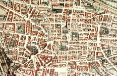 Your virtual eye on illuminated manuscripts, rare books, and the stories behind them. Architecture Mapping, Bologna, City Maps, Illuminated Manuscript, Drawing, Pop Up, Illustration, City Photo, Landscape