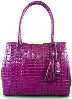 Brahmin a Leather Anytime Tote Handbag