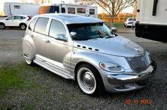 Custom PT Cruiser At Wilderness Lakes Chrysler Pt Cruiser, Chrysler Cars, My Dream Car, Dream Cars, Pt Cruiser Accessories, Station Wagon, Hot Cars, Mopar, Cars And Motorcycles