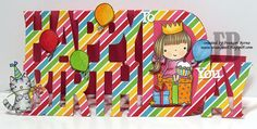 Happy Birthday to You created by Frances Byrne using Monumental Moments Happy Birthday - Tattered Lace. Stamps from Penny Black