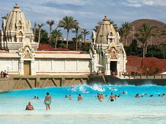 Siam Park, Tenerife,best wave machine ever! Loved it