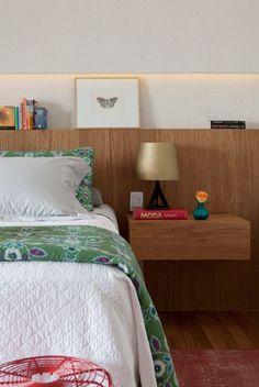 Pequenos detalhes garantem conforto no quarto - Casa