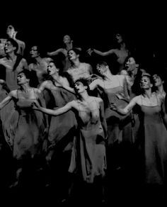Frühlingsopfer (Rite Of Spring), choreographed by Pina Bausch, music by Igor Stravinsky, 1975. Photo by Maarten Vanden Abeele