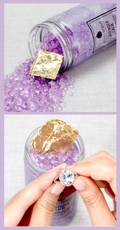 Aroma beads with a beautiful twist! Our beads are beautiful and fragrant; pour into organza pouches, glass jars and small sachets to use as dry potpourri. Perfect for use in your luggage, closets, wardrobe, cars or any other small space! Every item comes with a hidden jewel. Featured Scent: Calm Lavender