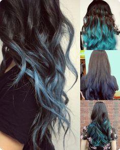 Top 7 Best Black Ombre Hair Color Ideas 2013