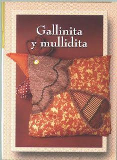 SONHO LILÁS-artesanatos: ALMOFADINHA GALINHA...Fofa!