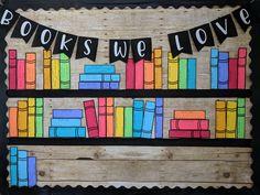 Reading/Books Bulletin Board Kit or Reading Wall Classroom Decor - Education & Career Reading Display, Reading Wall, Library Book Displays, Classroom Displays, Classroom Decor, Reading Books, Classroom Board, Classroom Design, Future Classroom