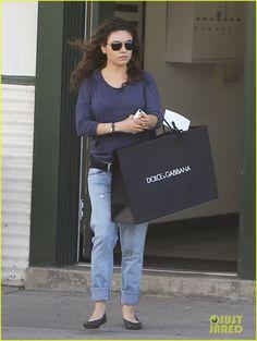 Mila Kunis doing some shopping in Beverly Hills
