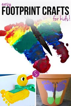 Easy Footprint Craft