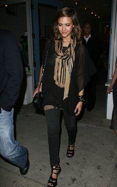 Jessica Alba stylish