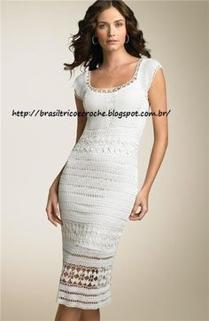 Great Brazilian site for dresses, pullovers... crochet and knitting ideas