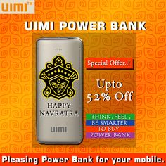 #UIMI #U8 #Powerbank May Goddess Durga blessed you all with prosperity, good fortune & wisdom. Experience the classy style power bank for your mobile lifestyle on this auspicious occasion of navratra..! Happy Durga Puja !! Shop online to save up to 52% off on UIMI Power Bank. Visit: http://bit.ly/2dvHbzJ
