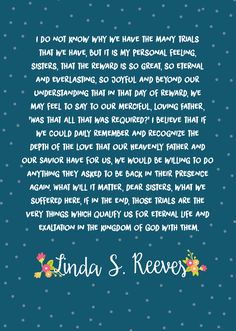All Things Bright and Beautiful: LDS Womens Conference FREE Printables (October Gospel Quotes, Lds Quotes, Uplifting Quotes, Jesus Quotes, Quotable Quotes, Great Quotes, Quotes 2016, Mormon Quotes, Spiritual Thoughts