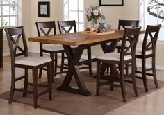 Piper 7PC Counter Height Dining Table