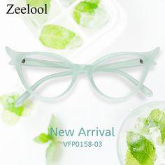 2cd925cd12 Judy Cat Eye Green Glasses VFP0158-03. Cat Eye. Zeelool Optical · Love  nature! Tree color!