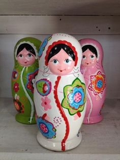 Matryoshka Doll Bank  By Present Time