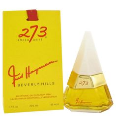 Launched by the design house of Fred Hayman in 1989 FRED HAYMAN 273 is classified as a refined flowery fragrance. This feminine scent possesses a blend of gardenia exotic fruits along with soft amber and sandalwood. It is recommended for evening wear.Designed For WomenThis product is the original authentic name brand and NOT a knockoff or imitation.