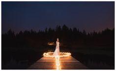 Matt Kennedy Photography Sparkler Photos!! Whonnock Lake Wedding: Esther & Brian