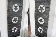 Aus Altem Holz und Farbe ein Schild Basteln