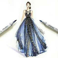 6,300 個讚,33 則留言 - Instagram 上的 BROOKLYN HILL(@sketchfashionillustration):「 @hnicholsillustration… 」