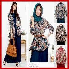 Image result for desain blus batik 2016