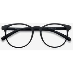 Men's Chilling - Black round plastic - 12945 Black Rx Eyeglasses ($15) ❤ liked on Polyvore featuring men's fashion, men's accessories, men's eyewear, men's eyeglasses, mens round eyeglasses, mens eyewear and mens eyeglasses