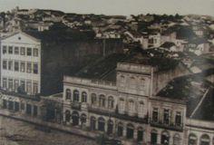 Antiga Rua General Paranhos. Depois era se tornaria a Avenida Borges de Medeiros.