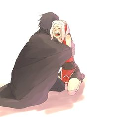 I look like Sakura when I cry XD Except I have no Sasuke to comfort me..... :'D