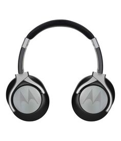 Motorola Pulse Max Over Ear Wired Headphones With Mic (Black)