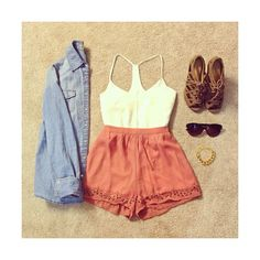 We Heart It found on Polyvore featuring polyvore, outfits and tumblr outfits