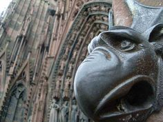 Cathedral of Our Lady of Strassburg... Love the Gargoyles