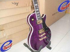 Trans purple Custom ebony fret board studio purple electric guitar 2011-in Guitar from Sports & Entertainment on Aliexpress.com