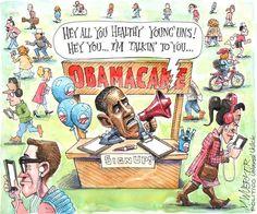 """Obamacare sign up"" | Wuerker/POLITICO"