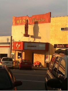 The Henn Theatre in Murphy, NC ❤