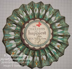 Another Medallion with Hearts - Everyday Enchantment SAB designer series paper