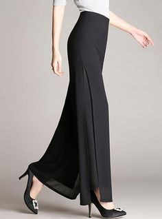 Buy Pants & Leggings, Online Shop, Women's Fashion Pants & Leggings for Sale - Floryday Fashion Pants, Hijab Fashion, Fashion Dresses, Loose Pants, Wide Leg Pants, Latest Fashion For Women, Womens Fashion, Cheap Fashion, Affordable Fashion