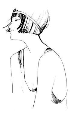 Image detail for -art, drawing, fashion, flapper.
