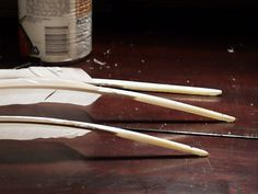 How to Cut Quill Pens from Feathers
