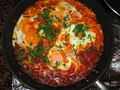 Shakshuka – yes, it's a word! And it's the ultimate hangover cure