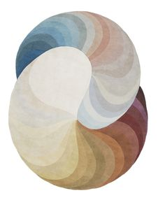 Patricia Urquiola's Double Slinkie rug for CC=Tapis