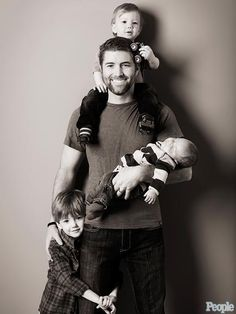 JOSH TURNER photo | Josh Turner with sons Hampton, 6, Colby, 3, and Crawford, 2. Wife, Jennifer (not pictured)