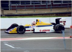 Nigel Mansell Williams Judd FW12 F1.1988 British GP Silverstone
