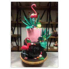Flamingo cake by Tatlımekan