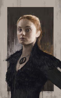 Sansa Stark by lsilvas on deviantART