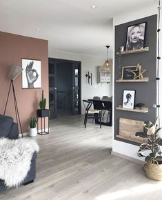 Awesome Interior Design 8 Stylish Home Decor Hacks For Renters - Decoholic Living Room Colors, Living Room Paint, Living Room Modern, Home Living Room, Living Room Furniture, Living Room Designs, Living Room Decor, Modern Furniture, Small Living