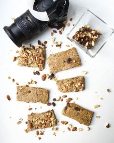 When the pics are done these will survive five minutes tops. #getinmybelly Oatmeal Raisin Chewy Bars coming to the blog soon!
