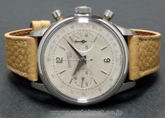 50's Eberhard&Co 38mm over size Chrono