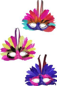 Un loup plumes pour carnaval Ledeguisement.com Diy Carnival Games, Carnival Decorations, Carnival Prizes, Carnival Food, Carnival Outfits, Carnival Makeup, Carnival Themes, Carnival Masks, Carnival Costumes